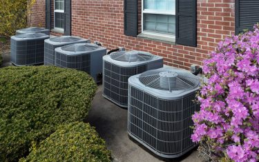 air source or ground source heat pump