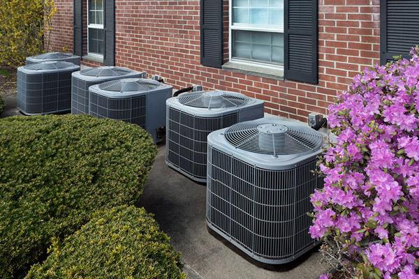 air source or ground source heat pump
